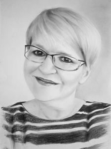 Commission digital file portrait