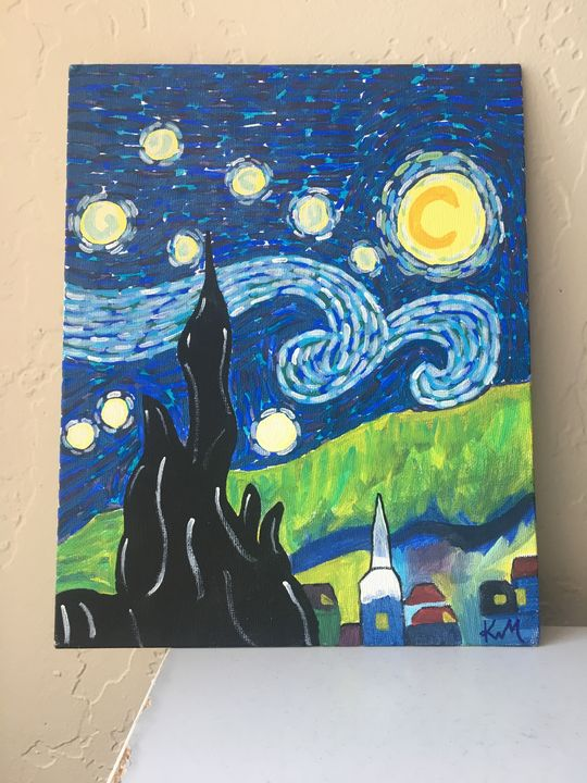 One starry night - Solstice