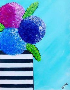 Hydrangea Paintings