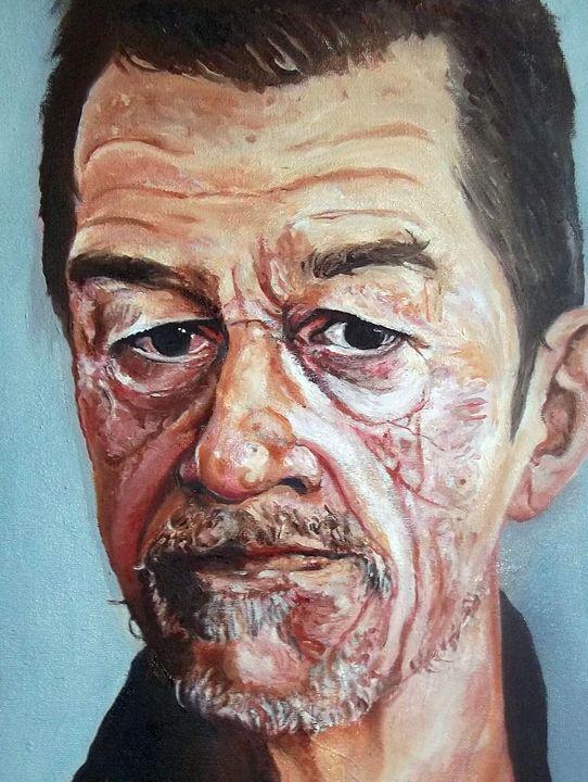 John Hurt Portrait - ROB~ART