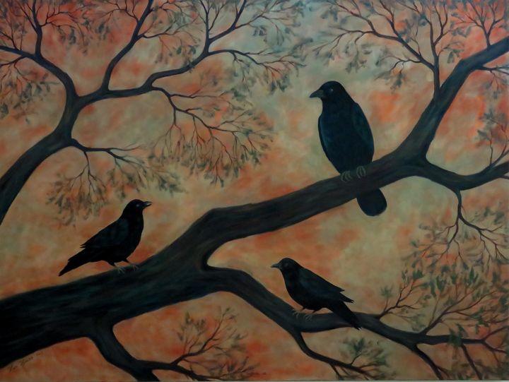 Feathered Family - Vicki Van Vynckt