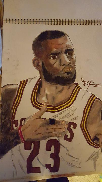 LeBron James is ready. - Million Art