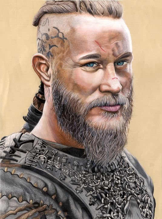 Travis Fimmel/ Ragnar Vikings - Salicio Illustration
