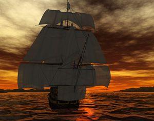 HMS Victory Full Sail