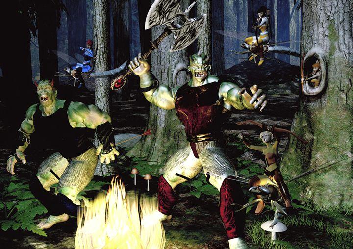 Elvish Attirude - Gene Osburn's Renders