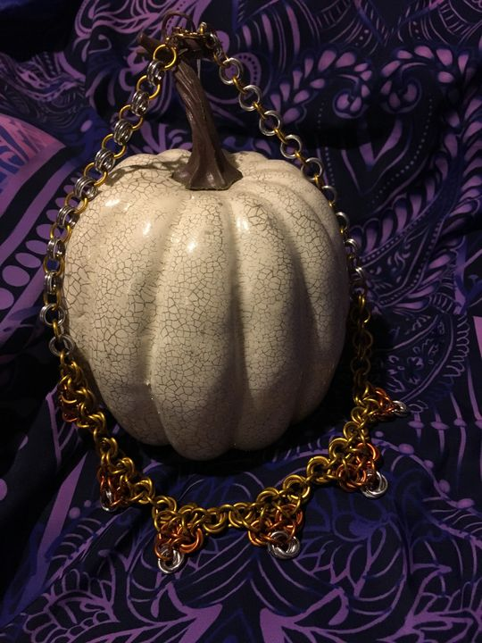 Candy Corn Necklace - Dragon's Lair Masks and Oddities