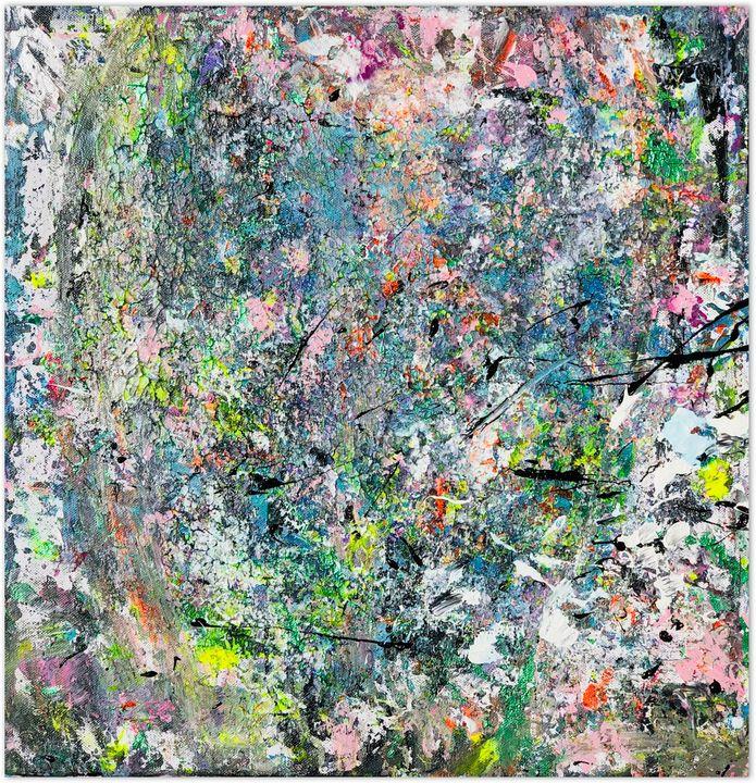 The Chaos - 50x50 cm - Sabrina's Fine Art Studio