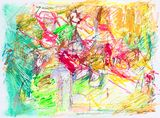 Original color abstract painting