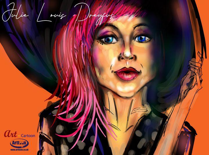 Julia Louis Dreyfus - Neil G Smith Art