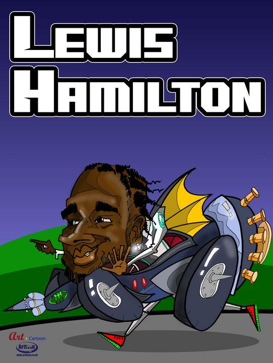 Lewis Hamilton - Neil G Smith Art