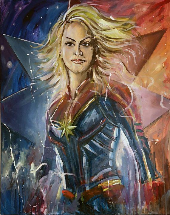 Captain Marvel - Neil G Smith Art