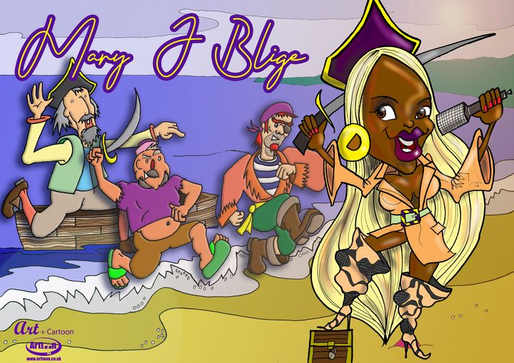 Pirate Run - Neil G Smith Art