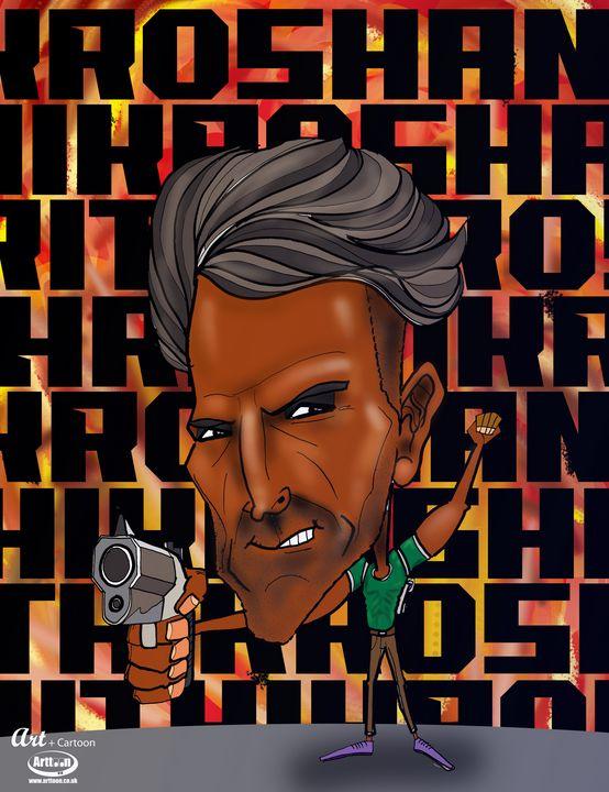 Hrithik Roshan - Neil G Smith Art
