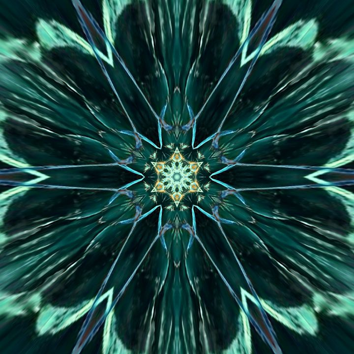 Green flower - Wonderlust Artwork