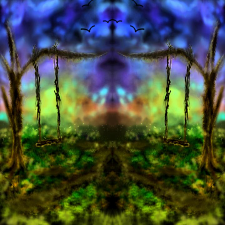 Mirrored evening dreams - Wonderlust Artwork