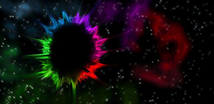 Rainbow Nebula digiverse - Wonderlust Artwork