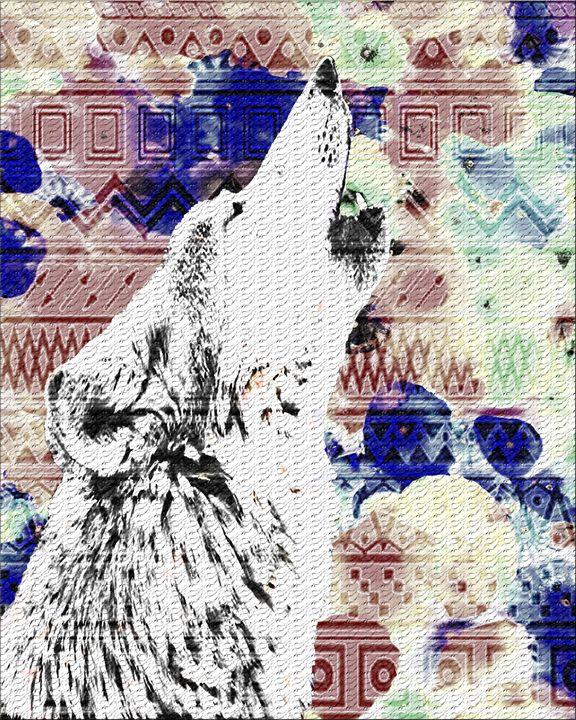Lone Wolf Tile - Kwajhan D-G