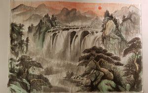 Waterfall x Huangshan