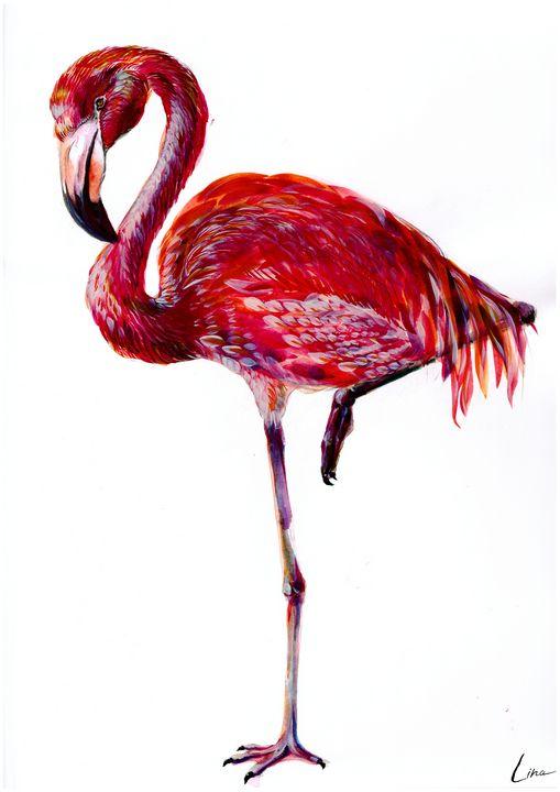 Flamingo - Artsylina