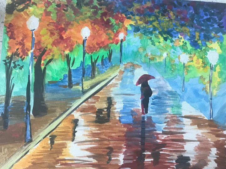 Rainy Night in Paris - Ada
