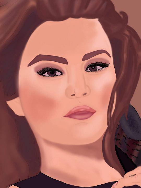 Selena Gomez - MckaylaBarkleyArt