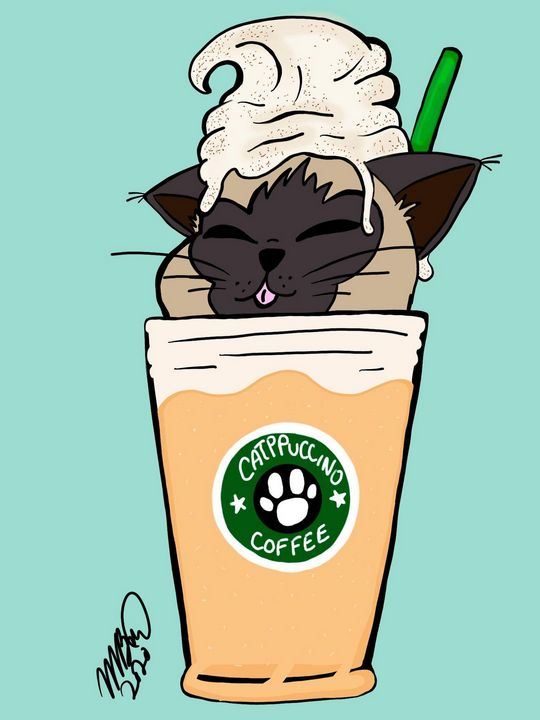 Catppuccino - MckaylaBarkleyArt