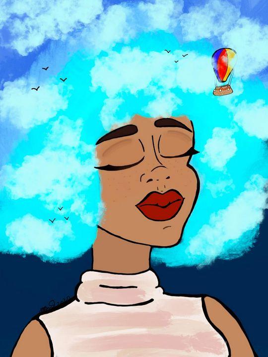 Head in the clouds - MckaylaBarkleyArt