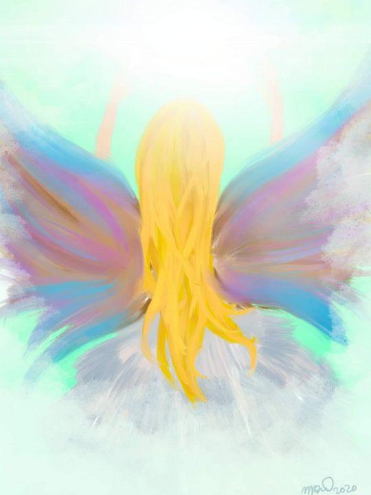 Angel of color - MckaylaBarkleyArt