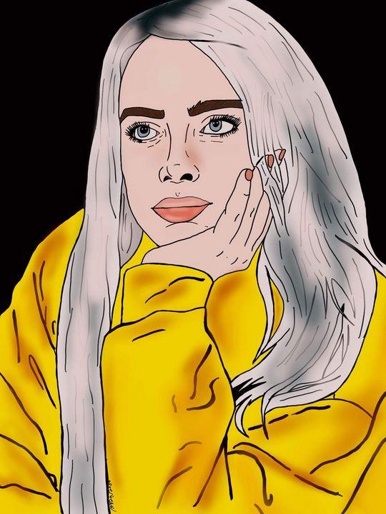 Billie Eilish - MckaylaBarkleyArt
