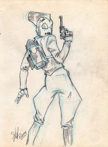 Rocketeer, Gun Drawn