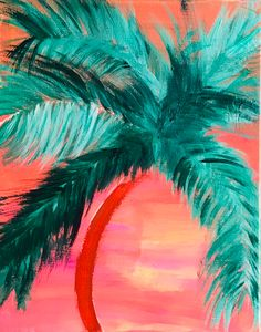 Sunset Palm - Amy Berlin-Salerno