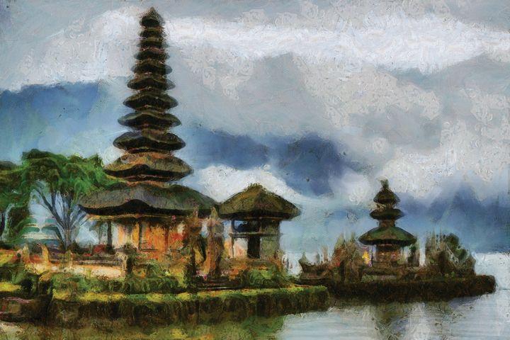 Ulun Danu Temple in Northern Bali - Sunanto