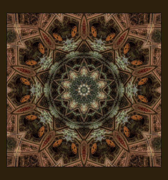 Dome Mandala - Barrington R DeMers