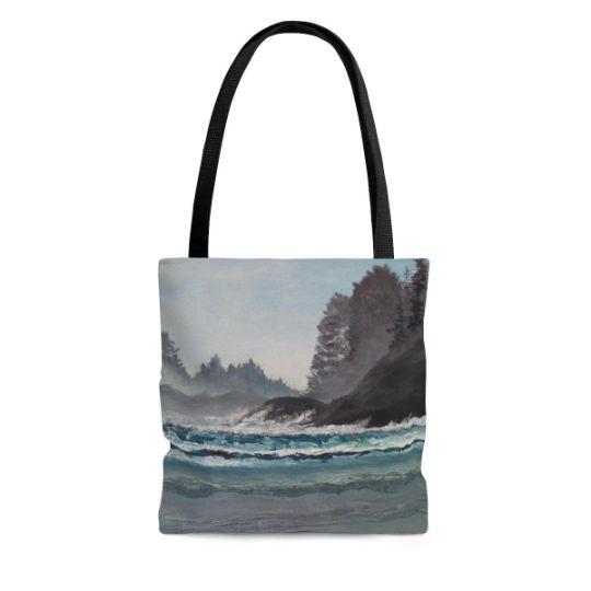 Tote Bag Tofino, Cox Bay Beach - Tatsianas Art NatureHub
