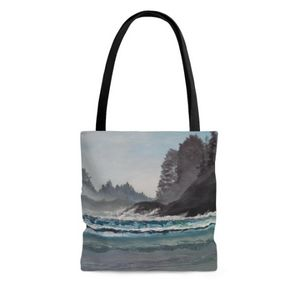 Tote Bag Tofino, Cox Bay Beach - Tatsiana's Art NatureHub