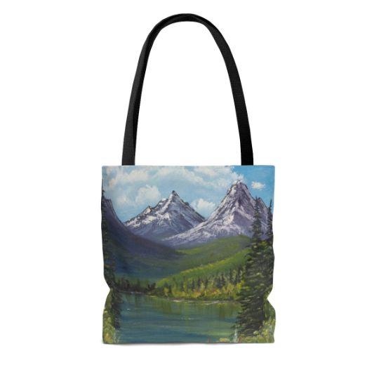 Tote Bag Twin Peaks - Tatsianas Art NatureHub