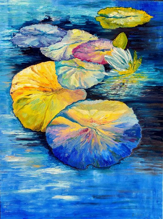 Water Lilies - Tatsianas Art NatureHub