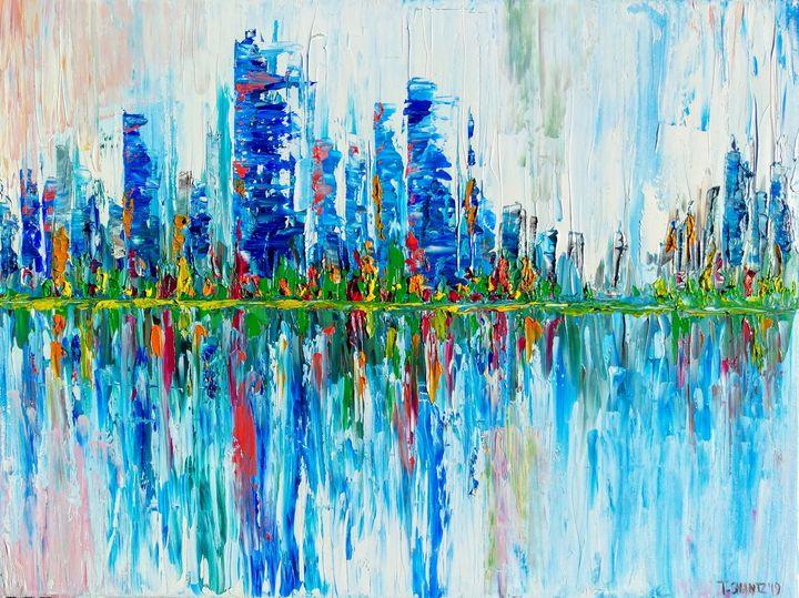 City Line - Tatsianas Art NatureHub