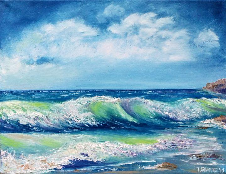 Ocean Waves - Tatsianas Art NatureHub