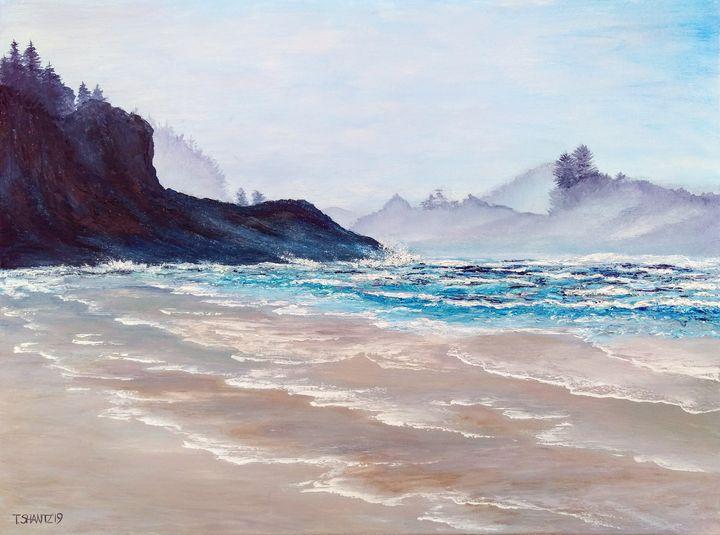 Tofino, Chesterman Beach - Tatsianas Art NatureHub