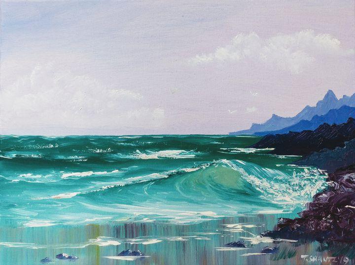 West Coast Seascape - Tatsianas Art NatureHub