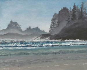 Tofino, Cox Bay Beach - Tatsiana's Art NatureHub