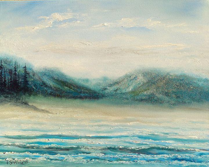 West Coast Beach - Tatsianas Art NatureHub