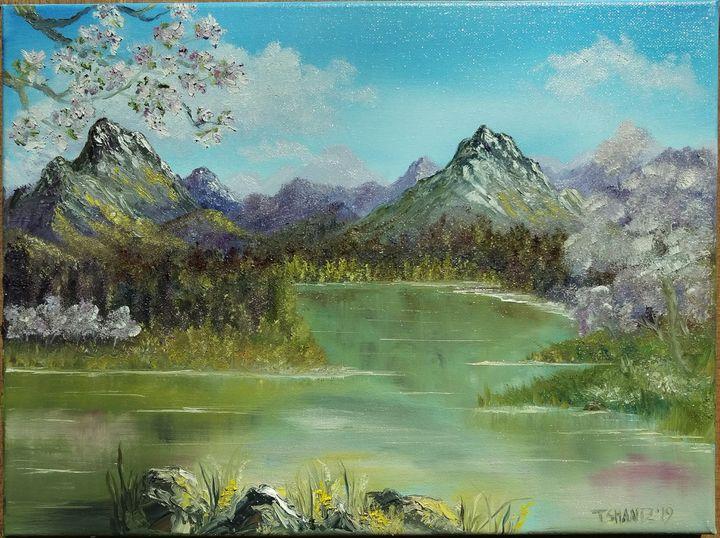 Spring In The Mountains - Tatsianas Art NatureHub
