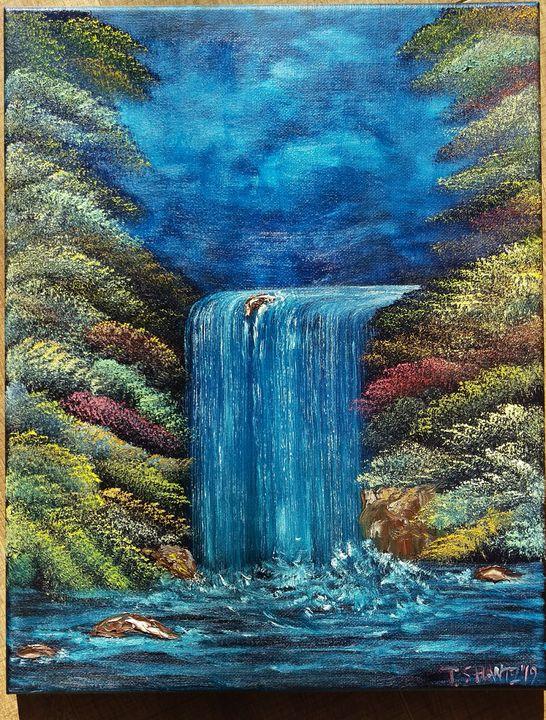 Waterfall - Tatsianas Art NatureHub