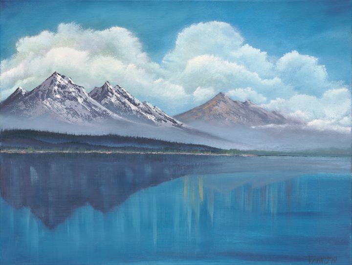 Mountain Blue Waters - Tatsianas Art NatureHub