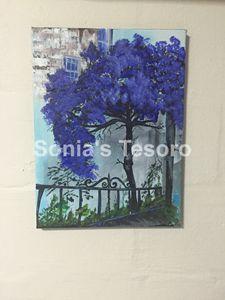 Acrylic Canvas Painting_Prosper Tree