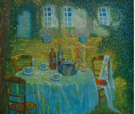 Evening table - Vas Apilats