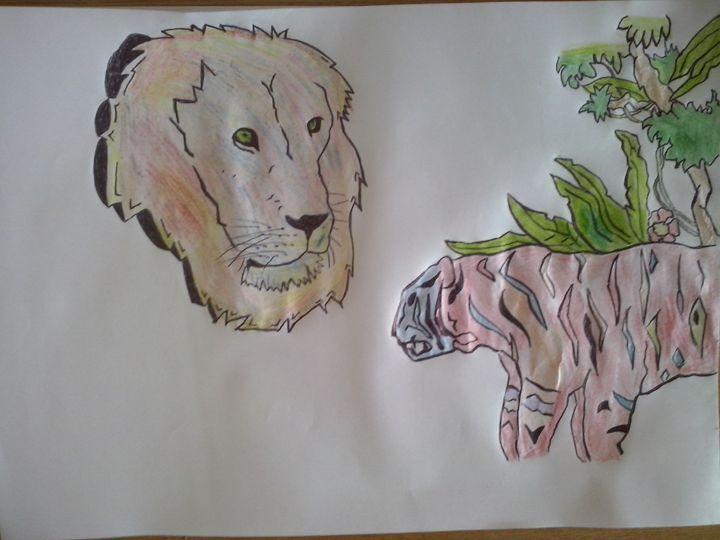 cats - LEW'S HAPPY ANIMATION CREATION (: