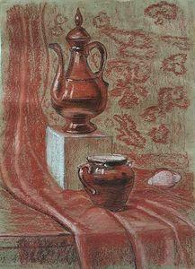 Teapot and Jar